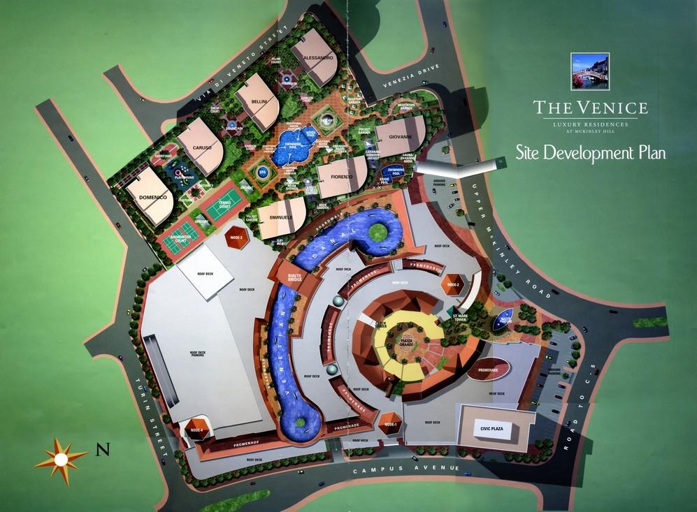 The Venice Site Development Plan | Megaworld properties at