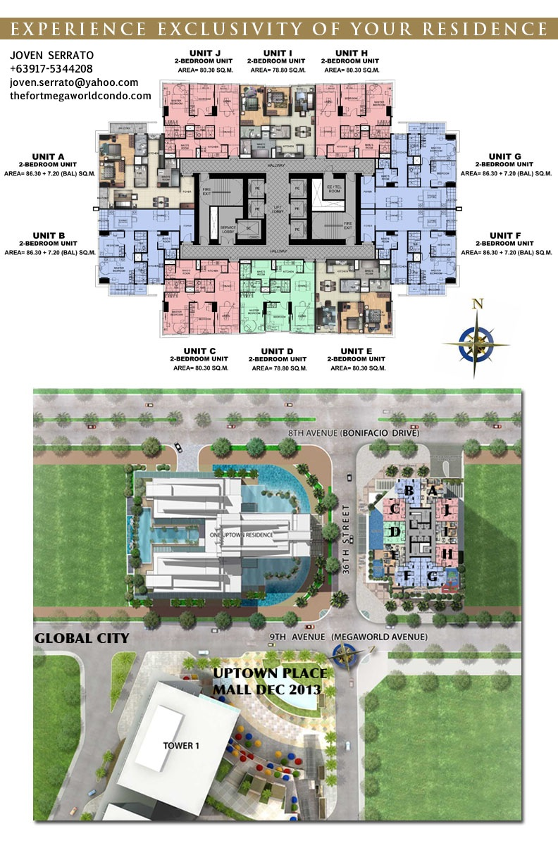uptown ritz floorplan